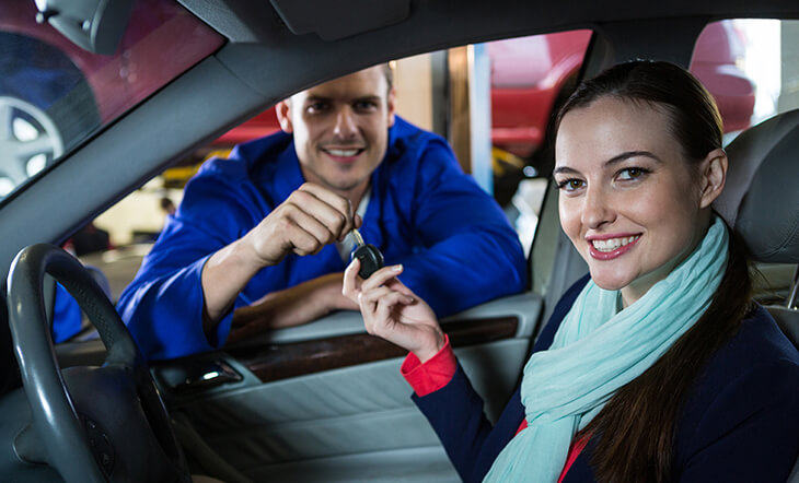 Schedule a car service before end of year break
